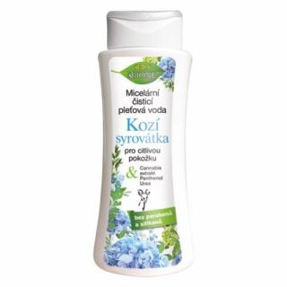 Bione Cosmetics Micelárna čistiaca pleťová voda Kozí Srvátka pre citlivú pokožku 255 ml dámské