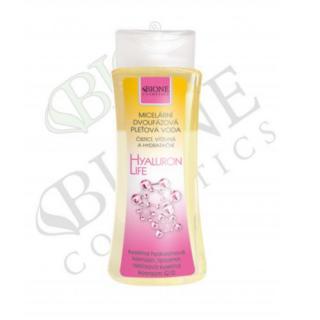 Bione Cosmetics Micelárna dvojfázová pleťová voda s kyselinou hyalurónovou Hyaluron Life 255 ml dámské