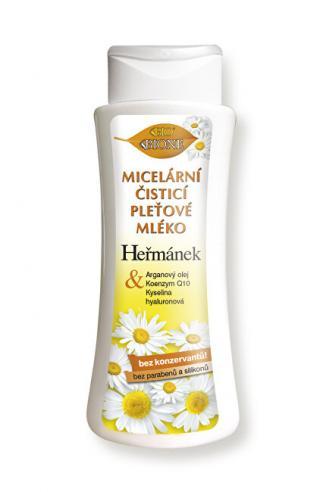 Bione Cosmetics Micelárny čistiace pleťové mlieko Heřmánek 255 ml dámské