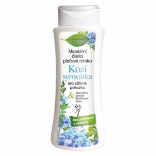 Bione Cosmetics Micelárny čistiace pleťové mlieko Kozí syrovátka pre citlivú pokožku 255 ml dámské