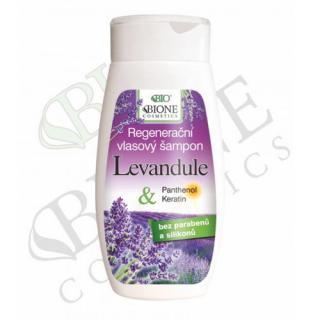 Bione Cosmetics Regeneračný vlasový šampón Levanduľa 260 ml dámské