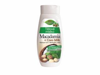 Bione Cosmetics Tělo vé mlieko Macadamia   Coco Milk 400 ml dámské