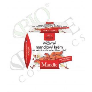 Bione Cosmetics Výživný krém na suchú a citlivú pleť Mandle 51 ml dámské