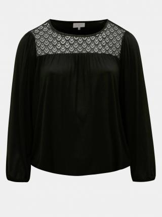 Black blouse ONLY CARMAKOMA Earli dámské čierná XL