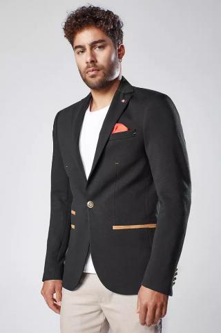 Black mens jacket MX0527 dámské Other S