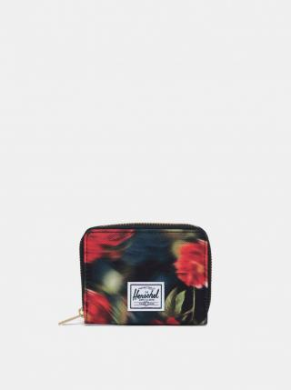 Black Patterned Wallet Herschel Supply dámské čierná One size