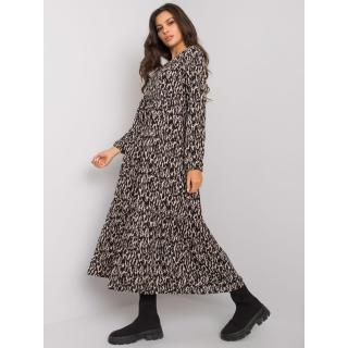 Black viscose maxi dress dámské Other S