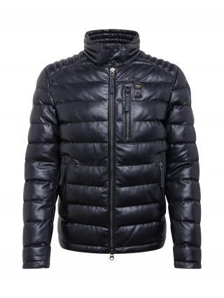 Blauer.USA Prechodná bunda  čierna pánské M