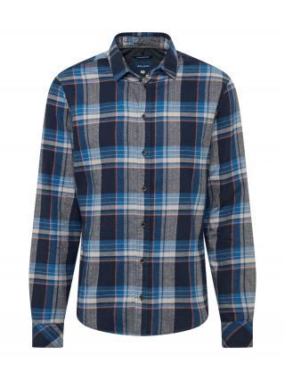 BLEND Košeľa  tmavomodrá / modrá pánské S