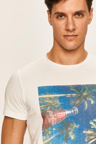 Blend - Pánske tričko pánské biela S