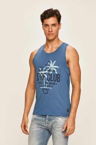Blend - Pánske tričko pánské modrá S
