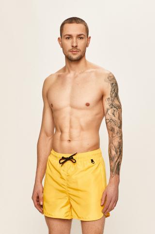 Blend - Plavkové šortky pánské žltá S