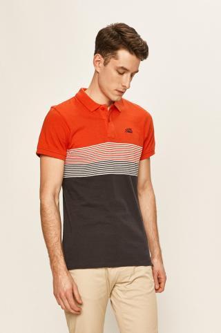 Blend - Polo tričko pánské červená S