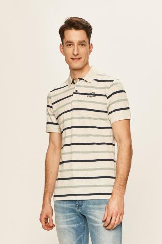 Blend - Polo tričko pánské sivá M
