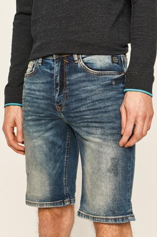 Blend - Rifľové krátke nohavice pánské modrá S