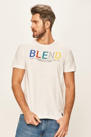 Blend - Tričko pánské biela L