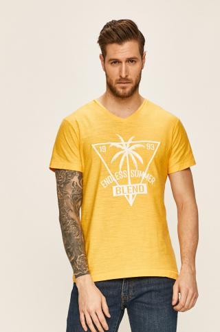 Blend - Tričko pánské žltá S