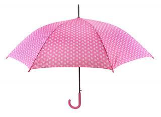 Blooming Brollies Dámsky palicový vystreľovací dáždnik Mini Heart s 12034B dámské