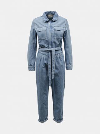 Blue denim overalls TALLY WEiJL dámské modrá XXS