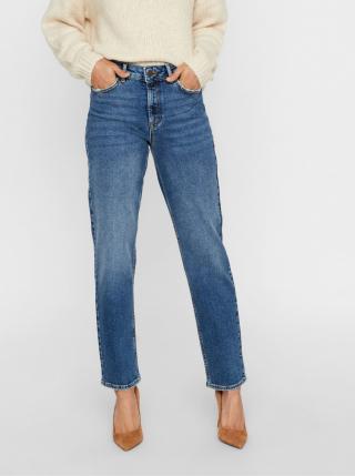 Blue relaxed fit jeans VERO MODA Sara dámské modrá S