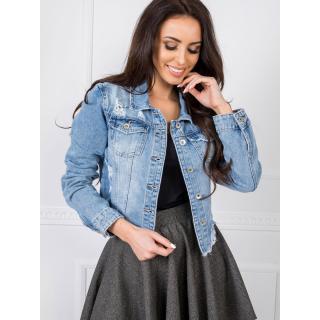 Blue short denim jacket dámské Neurčeno XL