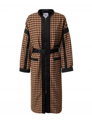 BOGNER Prechodný kabát RICARA  čierna / hnedá / béžová dámské M