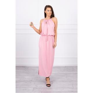Boho dress with fly powdered pink dámské Neurčeno One size