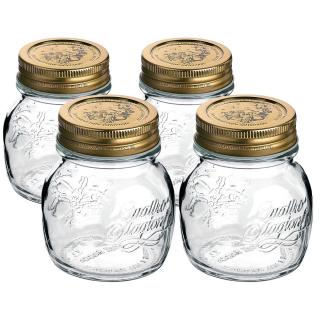 Mäser 4-dielna sada zaváracích pohárov Quattro, 150 ml