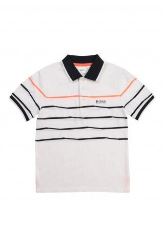 Boss - Detské polo tričko biela 150