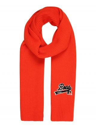 BOSS Šál Loggie_RA  oranžová dámské One Size