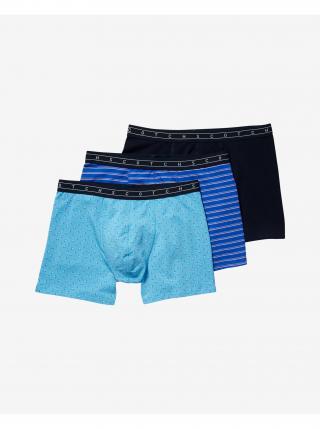 Boxerky pre mužov Scotch & Soda - čierna, modrá pánské M