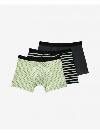 Boxerky pre mužov Scotch & Soda - čierna, zelená pánské M