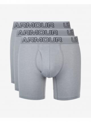 Boxerky pre mužov Under Armour pánské sivá S