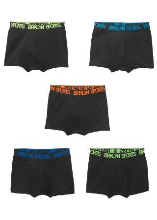 Boxerské šortky  pánské čierna 176/182,164/170,152/158,140/146,128/134