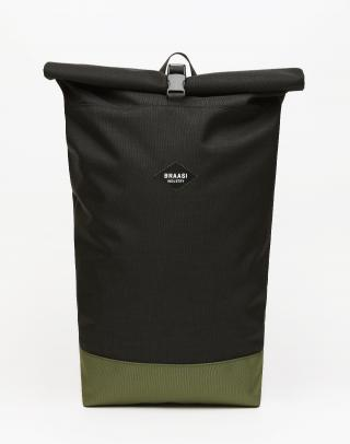 Braasi Industry Rolltop Basic Black/Green Čierna