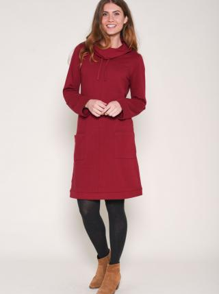 Brakeburn Burgundy Sweatshirt dámské červená S