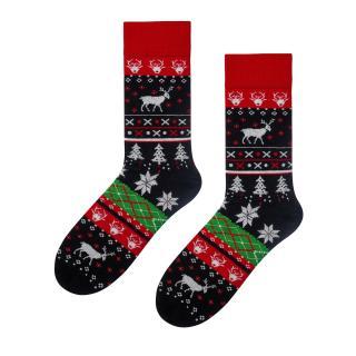 Bratex Mans Socks KL347 pánské Black 44