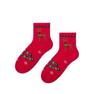 Bratex Womans Socks D985 dámské Red 36