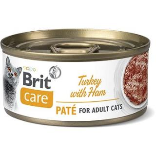 Brit Care Cat Turkey Paté with Ham 70 g