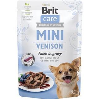 Brit Care Mini Venison Fillets in Gravy 85 g