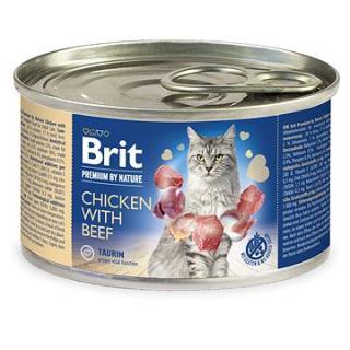 Brit Premium by Nature Chicken with Beef 200 g