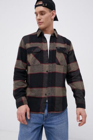 Brixton - Košeľa pánské čierna XL