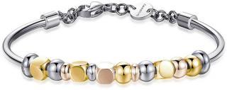 Brosway Oceľový náhrdelník s tricolor bonbóny Très Jolie BTJMP003