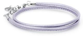 Brosway Svetlo fialový kožený náramok Bracciali BBR32