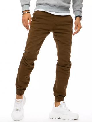 Brown mens jogger pants Dstreet UX3170 pánské Neurčeno 29