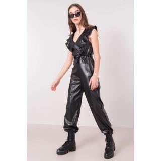 BSL Black leather suit dámské Other L