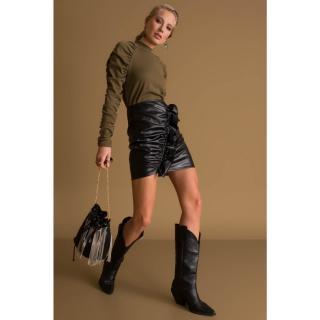 BSL Black mini skirt dámské Neurčeno L