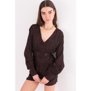 BSL Dark brown short jumpsuit dámské Other L