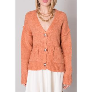 BSL Salmon blue cardigan with buttons dámské Other M