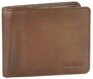 Bugatti Pánska kožená peňaženka Domus RFID 49322907 Cognac pánské